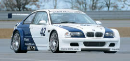 BMW M3 GTR DTM Race Car - 2001