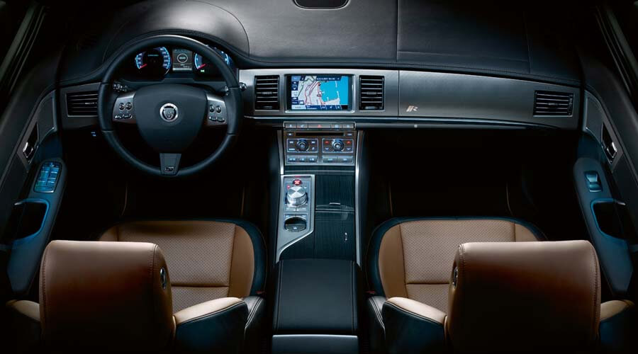 Jaguar XFR Interior