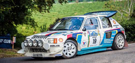 Peugeot 205 Turbo T16 Rally Car - 1985