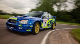 Subaru Impreza WRC Rally Car 2003
