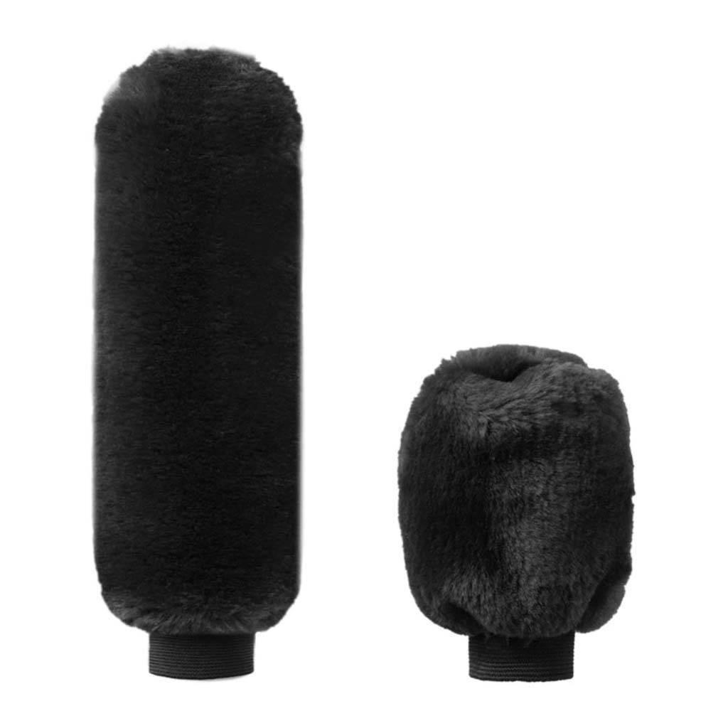 """Черный """"Чехол на рукоятку КПП и Ручник"""" - BLACK"""