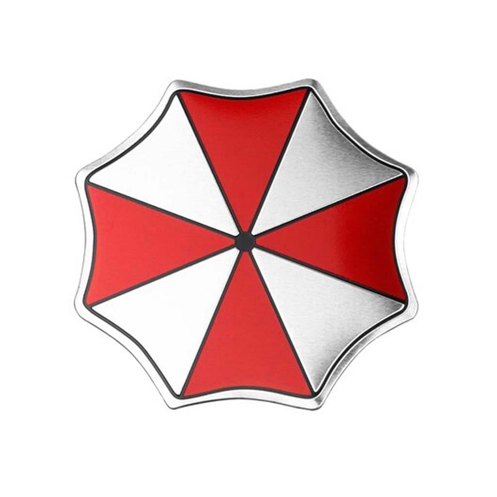 """Алюминевый шильд """"Umbrella Corporaton"""""""