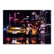 Mazda RX7 City Night Lights