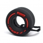 ПОКРЫШКА F1 Pirelli P ZERO Supersoft - RED