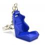 Модные брелки на сумки - Гоночное кресло BRIDE - Синее